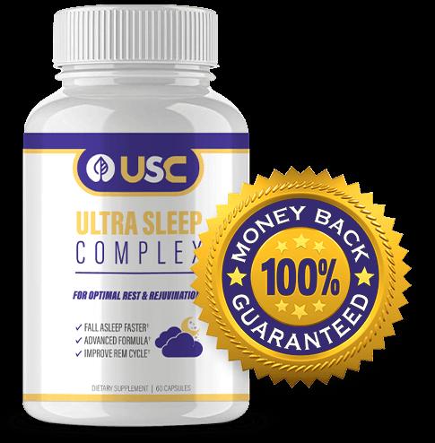 Ultra Sleep Complex bottle